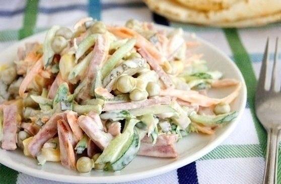 Простой рецепт вкусного салата