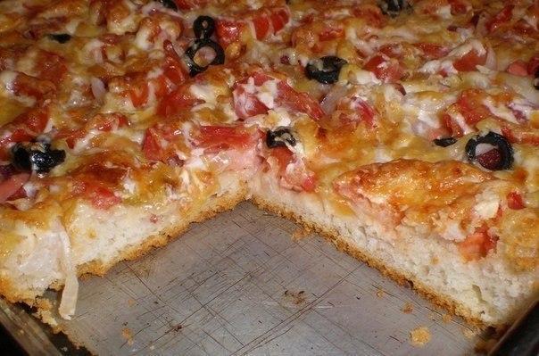 Есть пицца тонкая, а есть пицца вкусная